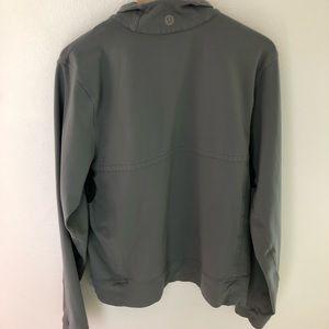 Gray Full Zip Lululemon Jacket